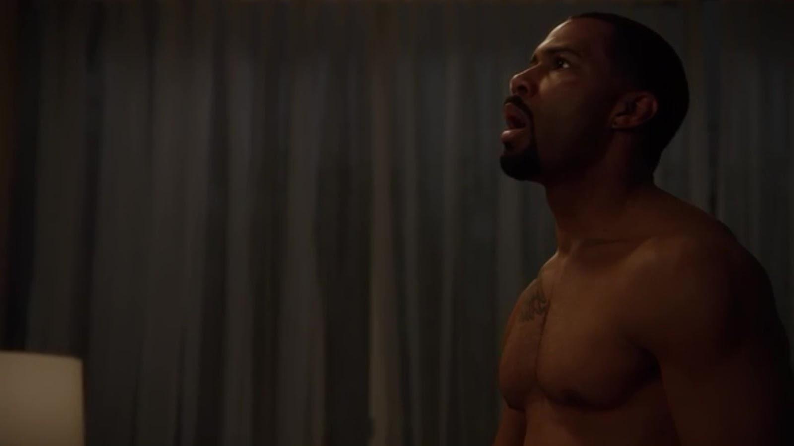 Auscaps Omari Hardwick Nude In Power 1-02 -4365