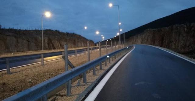 Προσωρινές ρυθμίσεις με στόχο την απόδοση στην κυκλοφορία 15 χιλιομέτρων του δρόμου!