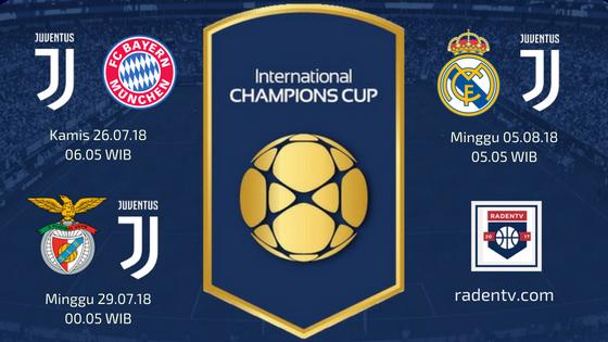 Jadwal Juventus ICC 2018