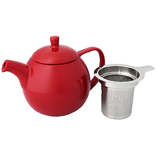 Harney and Sons Fine Teas - ForLife Curve Teapot with Infuser / www.delightfulrepast.com