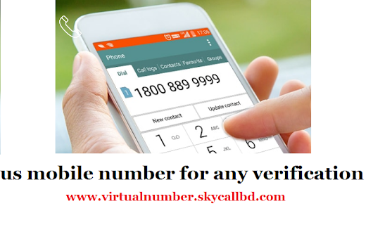Us mobile number for any verification