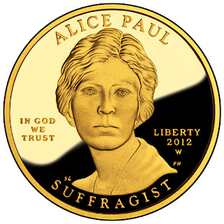 Alice Paul and the Suffrage Movement 10 Dollars First Spouse Gold Coin
