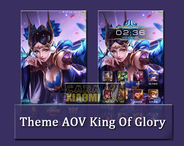 Theme MIUI AOV King of Glory Mtz v1.0.0.0 For Xiaomi Terbaru