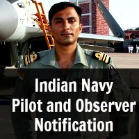 Indian Navy Pilot and Observer Notification Dec 2014