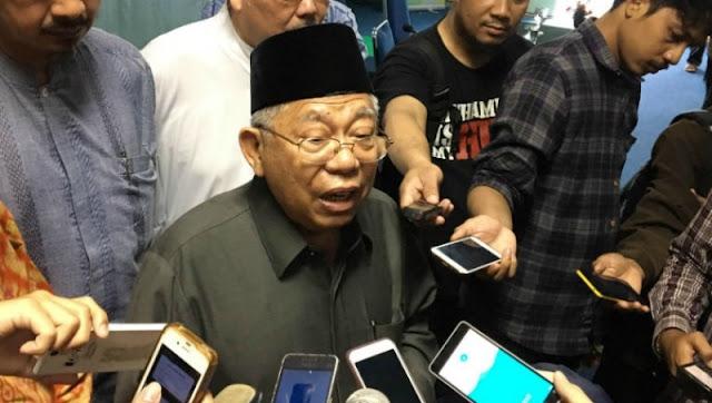 Ma'ruf Amin Kabarkan Non Aktif dari MUI Melalui Pesan WhatsApp