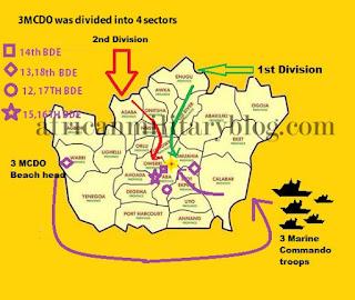 Outline of the Nigerian Civil war battle