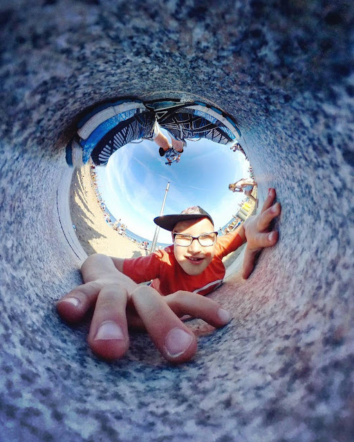 ben heine photography - gear 360 - around the world - samsung galaxy s8 ambassador - storytelling - little world - travel - world visit - capture