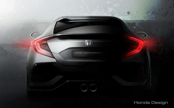Honda presentará el nuevo Civic 5 puertas en Ginebra