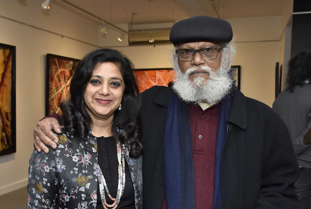 Ashwini Pai Bahadur with Jatin Das