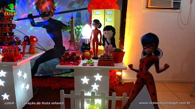 Decoração Miraculous - festa de aniversário infantil