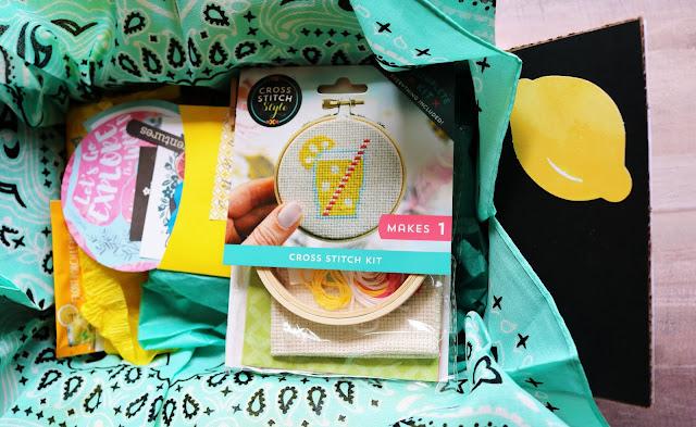 Lemonade-Inspired Care Package