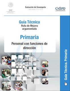 Personal con funciones de dirección-primaria