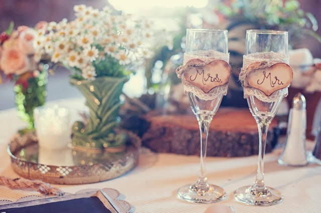 Ideas Rústicas para decorar tu Boda