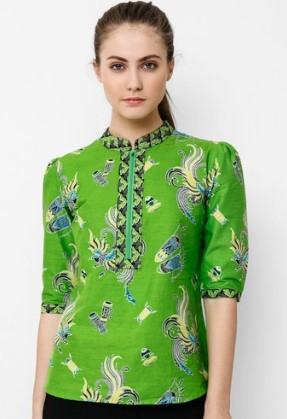 15 Contoh Model iBajui Batik iSantaii Simpel Elegan Modern 2019