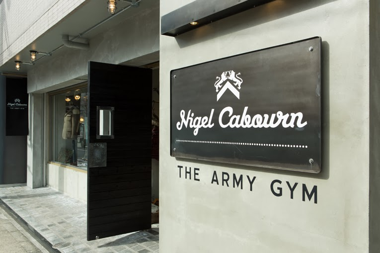 65c1f32ccd8a CHAD S DRYGOODS  NIGEL CABOURN - THE NEW ARMY GYM