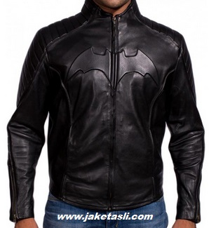 Gambar Jaket Kulit Logo Batman