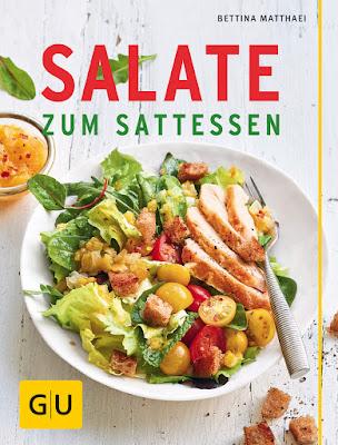 Titelbild zum Buch Salate zum Sattessen von Bettina Matthaei von GU