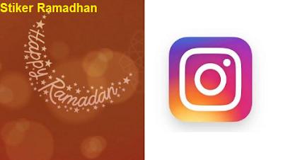 Stiker Ramadhan di luncurkan oleh instagram dalam Meriahkan Bulan Suci Ramadan