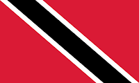 Logo Gambar Bendera Negara Trinidad dan Tobago PNG JPG ukuran 200 px