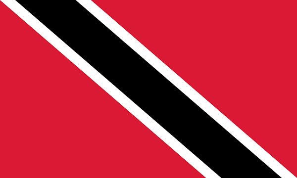 Logo Gambar Bendera Negara Trinidad dan Tobago PNG JPG ukuran 600 px