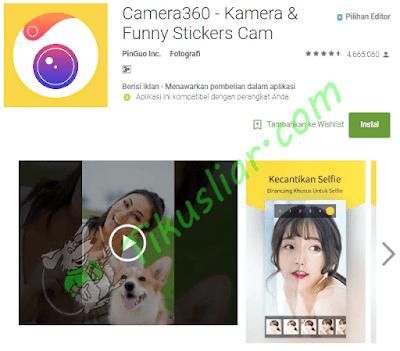 Aplikasi kamera selfie terbaik untuk android jelly bean