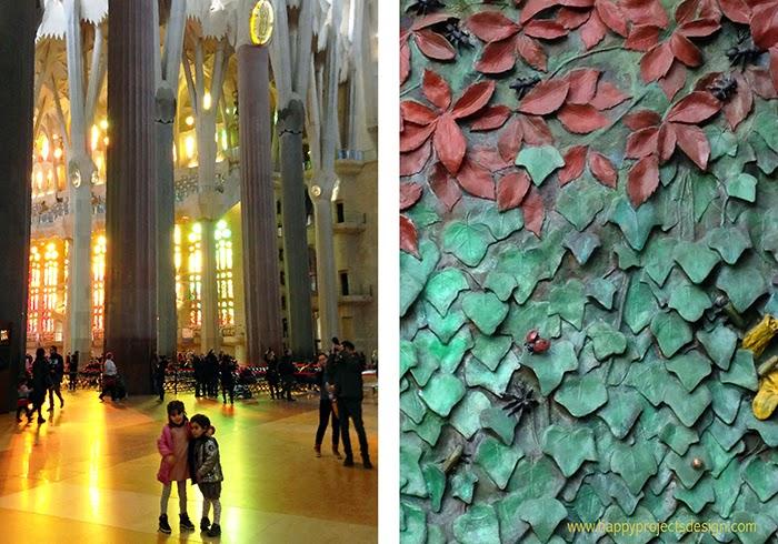 Sagrada Família con niños