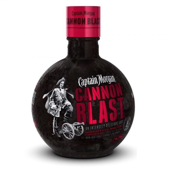 Captain Morgan Cannon Blast Spiced Rum Captain Morgan® - captain morgan cannonball