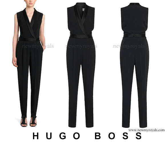 Queen Letizia wore HUGO BOSS Duxida Jumpsuit