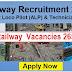 Railway recruitment 2018  - 26502 vacancy Apply Online Now