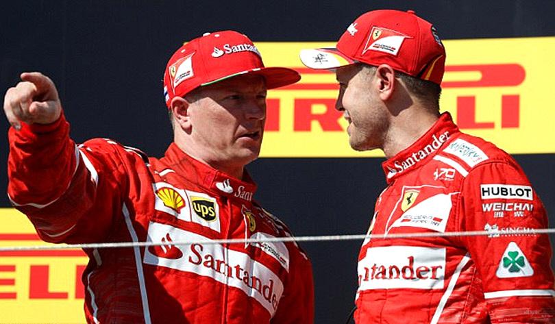Sebastian Vettel - Kimi Räikkönen
