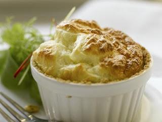 Receta fácil y económica de, Souffle de pollo.