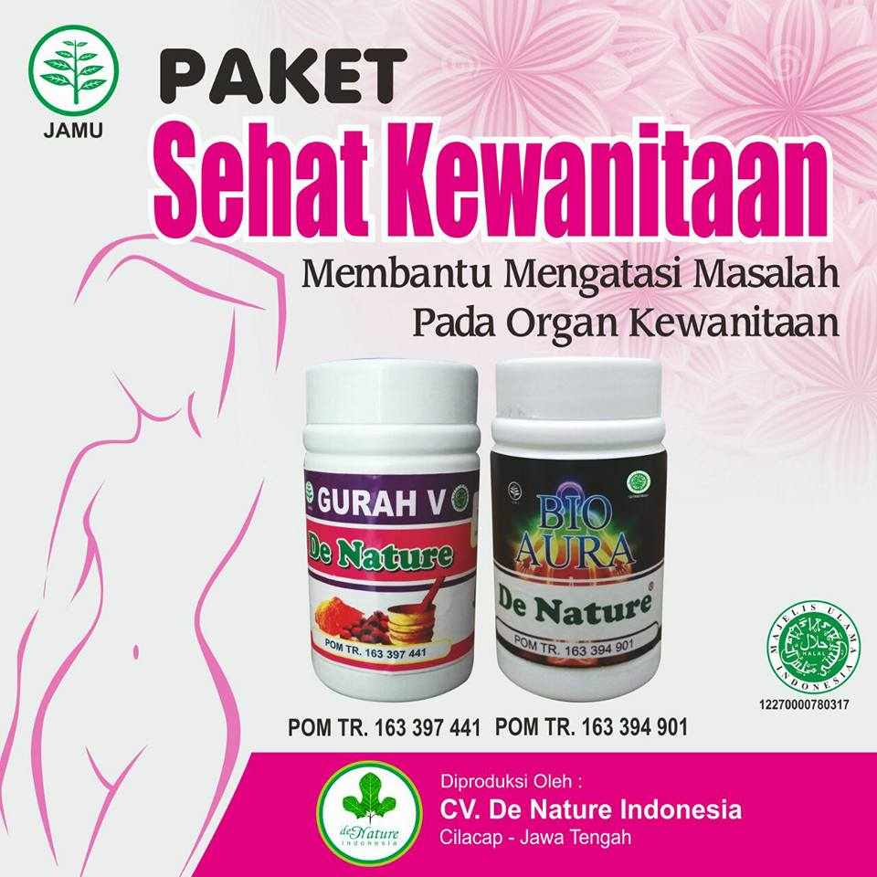 Obat Bakteri Vaginosis (BV) Herbal de Nature