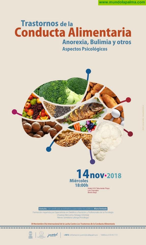Juventud organiza una charla dedicada a los trastornos de la conducta alimentaria