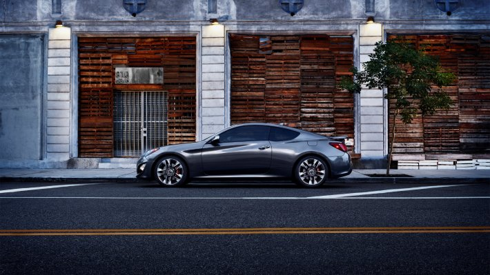 Wallpaper: 2015 Hyundai Genesis Coupe
