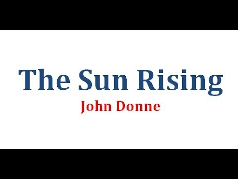 the sun rising summary