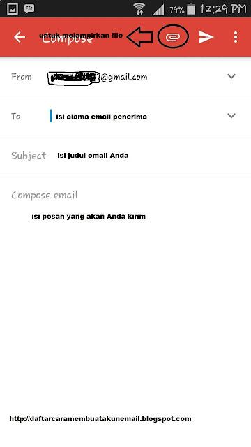Cara Mengirim Email Gmail Lewat Hp Android