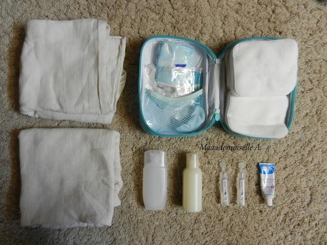    Deux semaines de vacances, 2 adultes, 2 enfants, je mets quoi dans mes valises ? - Trousse de change pour bébé