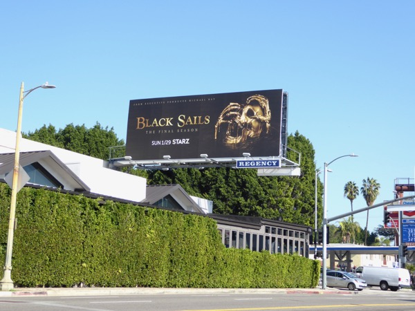 Black Sails season 4 billboard