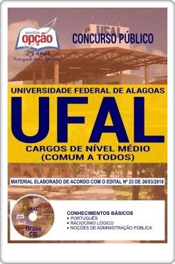 Apostila Universidade Federal de Alagoas Nível Médio
