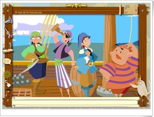 """Los Piratas de la Ortografía: """"Mayúsculas y minúsculas"""""""