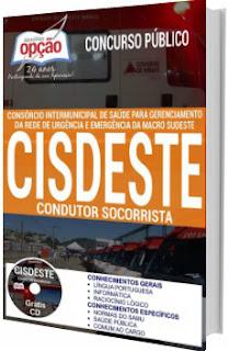 Apostila CISDESTE 2017 Condutor Socorrista