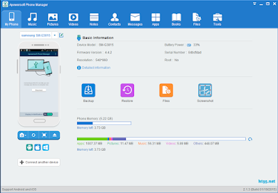 Apowersoft Phone Manager Pro Latest Version Free Download For Windows