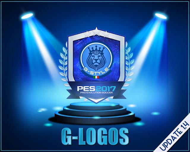 PES 2017 Logo pack V1.4 dari G-Style