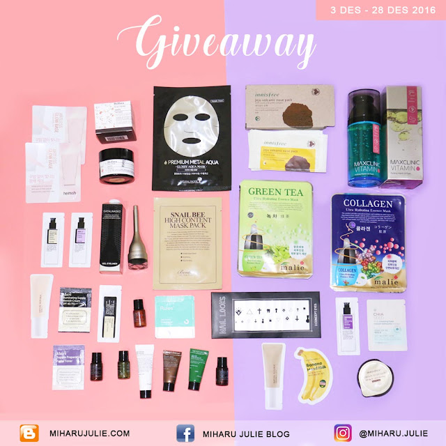 Korean Makeup Giveaway