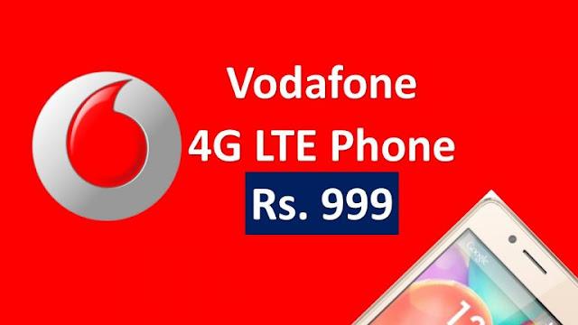 Vodafone Ka Rs 999 Wala 4G Phone