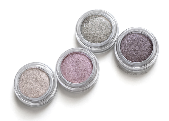 Clarins Instant Glow Ombre Iridescente Eyeshadows 04 Silver Ivory 05 Pink 06 Green 07 Plum Photos