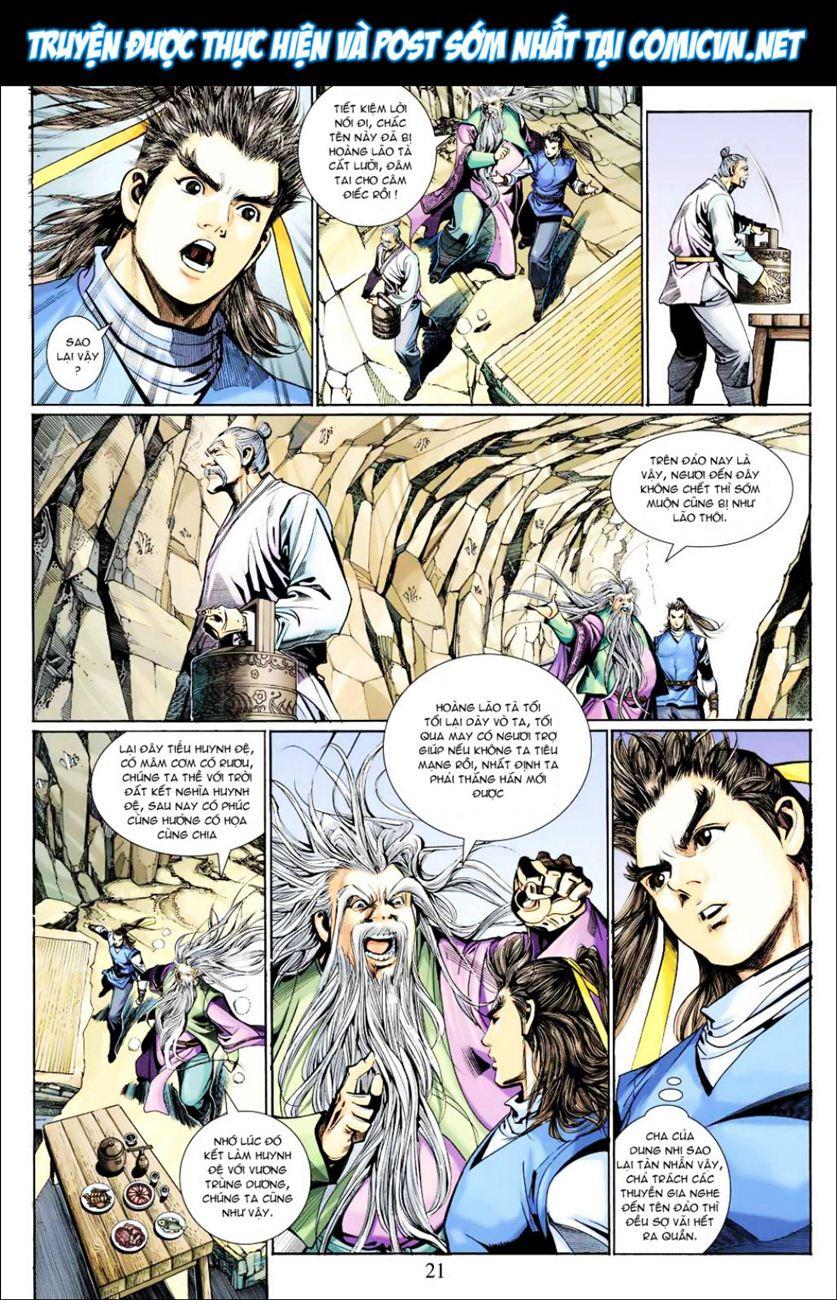 Anh Hùng Xạ Điêu anh hùng xạ đêu chap 40 trang 21