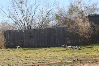 Viewing fence at Brantley Lake State Park in Carlsbad, NM