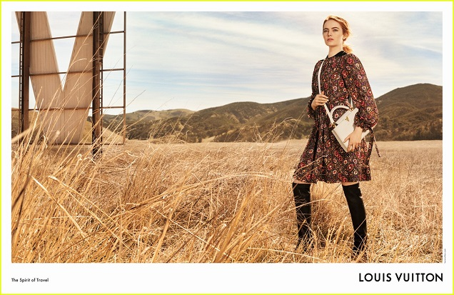 776c2b0fbbcf mylifestylenews  Louis Vuitton X Emma Stone SS2018 Advertising Campaign