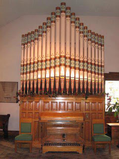 A. B. Felgemaker Company Pipe Organ, Opus 165, Manufactured in 1873